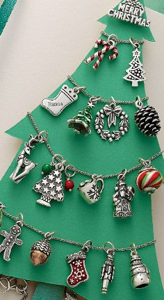 Start a charm bracelet and give your Christmas memories a home. #JamesAvery