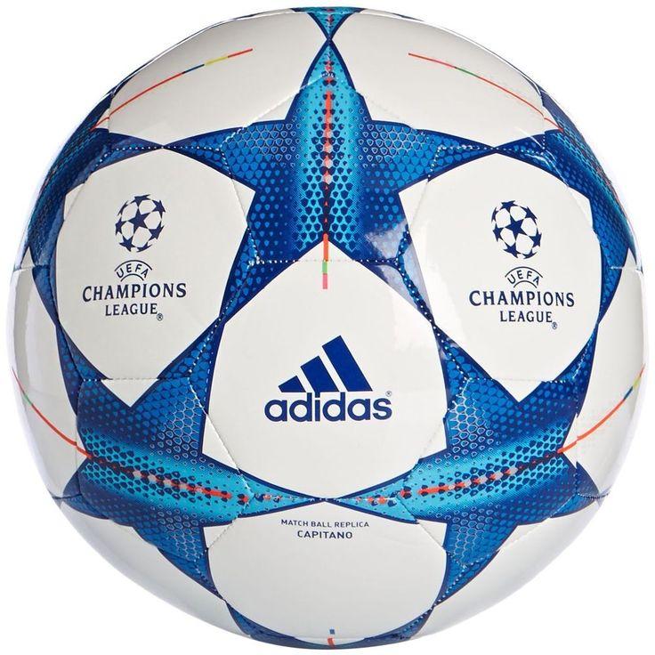Adidas Finale 15 Capitano S90224 - Balón de fútbol, Color Blanco / Azul