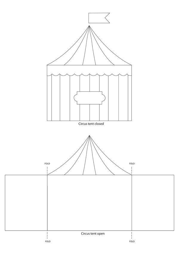 Circus Tent Template Sirkus on pinterest  clowns, <b>circus</b> theme and <b>tent</b>