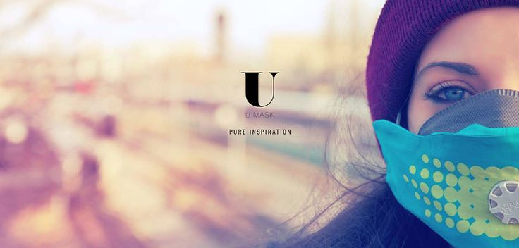U-mask anti pollution mask is pure inspiration ;-))) You can protect yourself while still looking great.