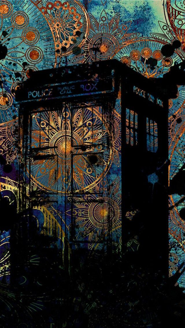 Doctor Who doodle wallpaper