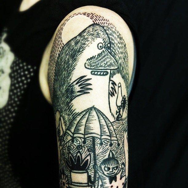 Moomin tattoos!