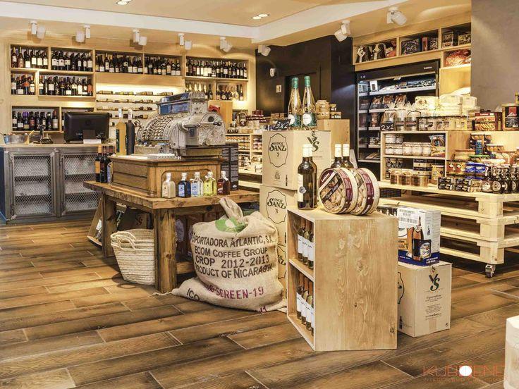 Abarrotes tienda de productos gourmet by kuboene for Tiendas de muebles para restaurantes