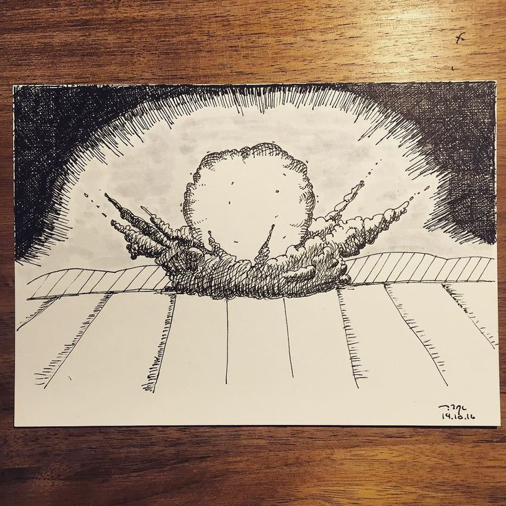 how to draw an explosion easy