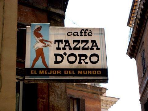La Tazza dOro koffiebar in Rome | Rome-Nu.nl