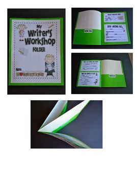 Writer's Workshop Folder Printables @Lyrmarie Hernandez we could follow these instructions. I have the info to put n the folders :)