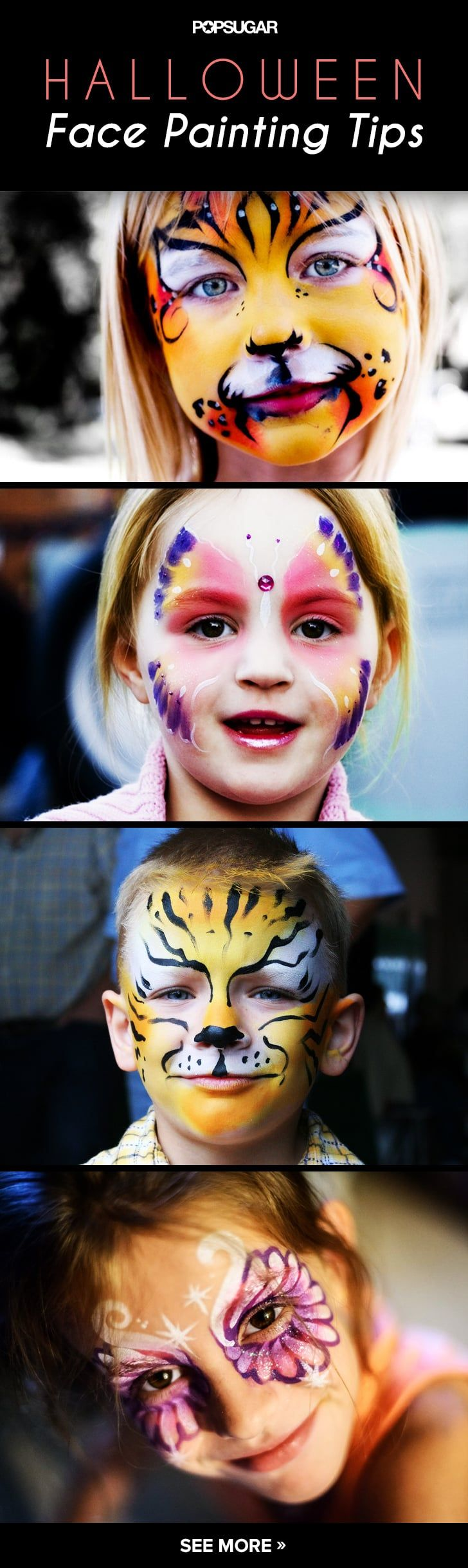Pin for Later: Tips and Tricks For Halloween Face Painting Success