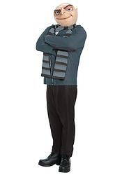 ADULT GRU DESPICABLE ME COSTUME OUTFIT