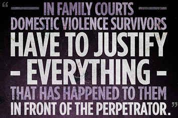 How Domestic Violence Victims Are Still At Risk, Even In A Courtroom