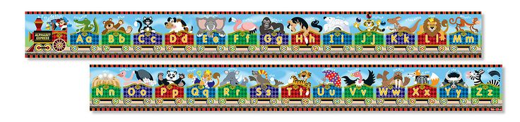 Melissa & Doug - Alphabet Express Floor Puzzle (27 pc)