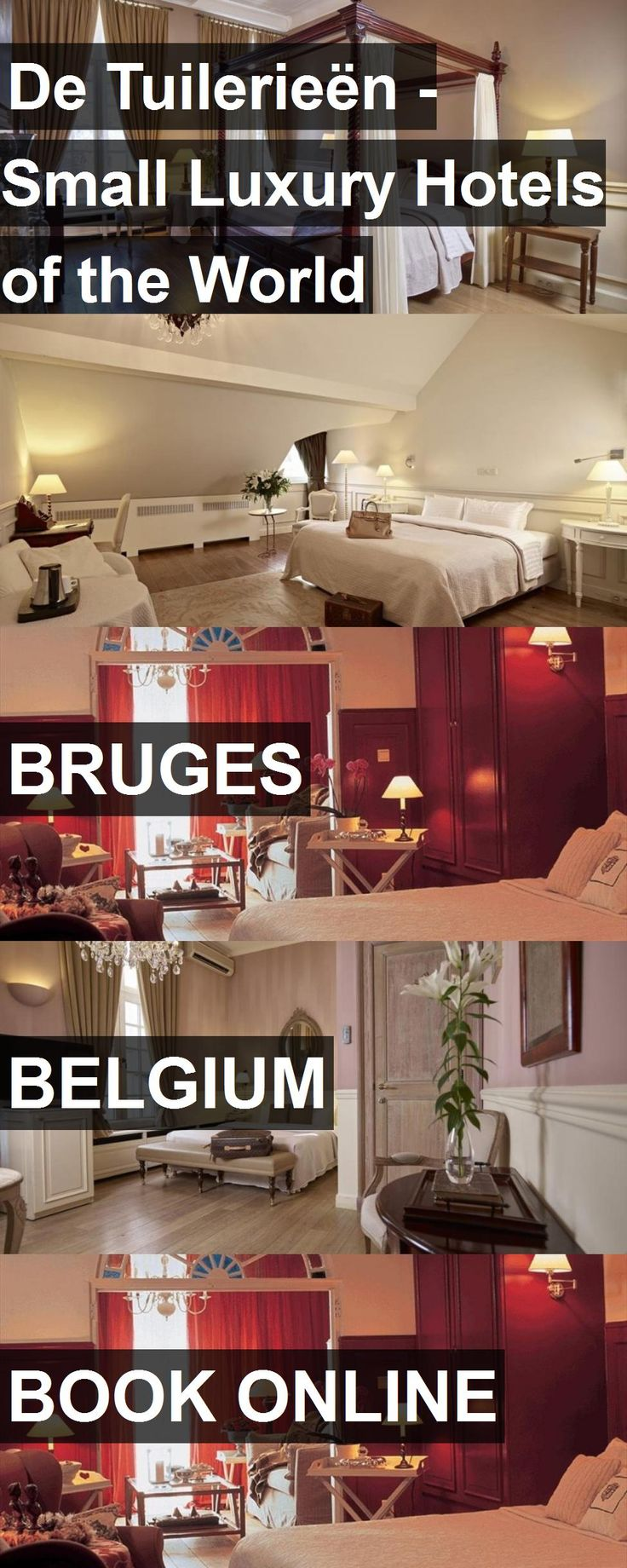 De Tuilerieën - Small Luxury Hotels of the World in Bruges, Belgium. For more information, photos, reviews and best prices please follow the link. #Belgium #Bruges #travel #vacation #hotel