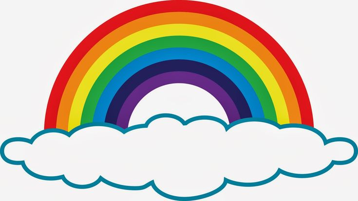 rainbow clipart - Google Search | lena | Pinterest | Sun ...