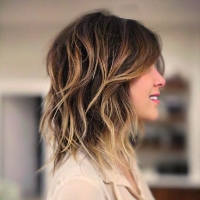 Best Long Layered Haircuts 2017 : Best 25 long shag haircut ideas on pinterest