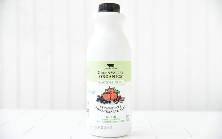 Green Valley Organics Organic Lactose Free Strawberry Pomegranate Acai Kefir
