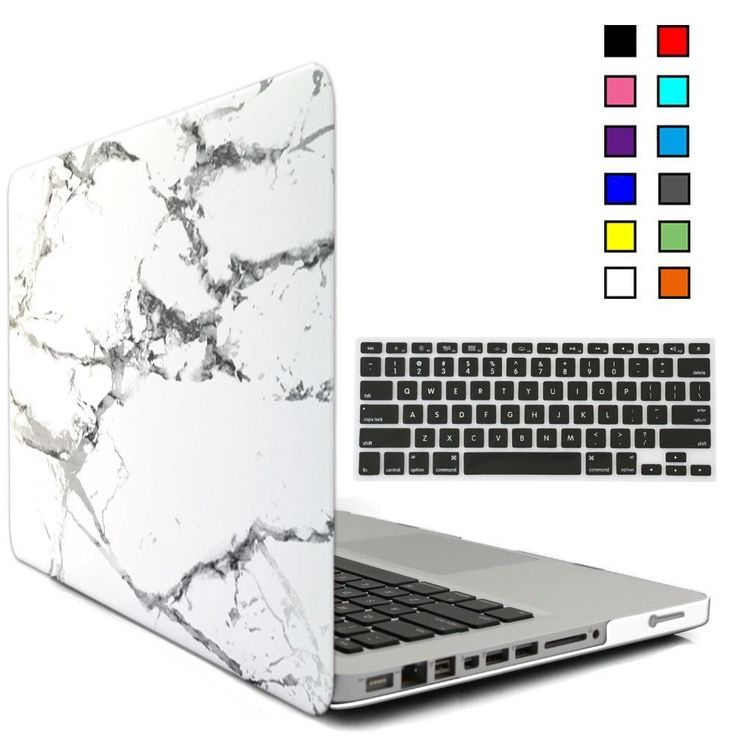 MacBook Pro Protective Cover, Rubberized Hard Matte Shell Case with retina 13″ 15″, Marble