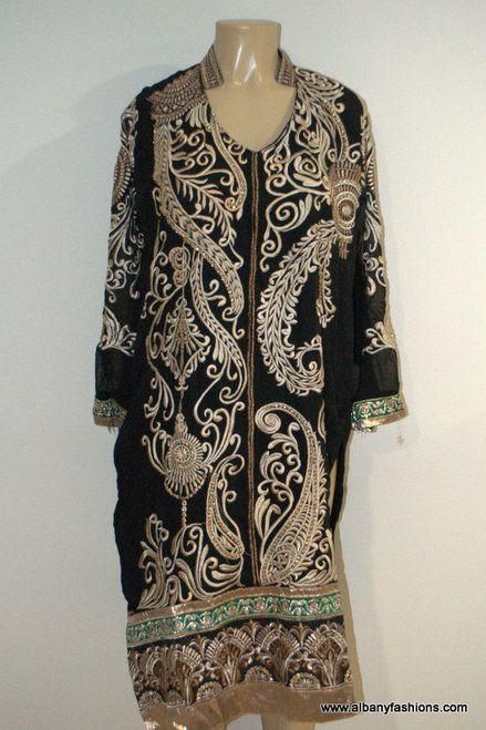 2899-Anarkali Churidar Suit-Black