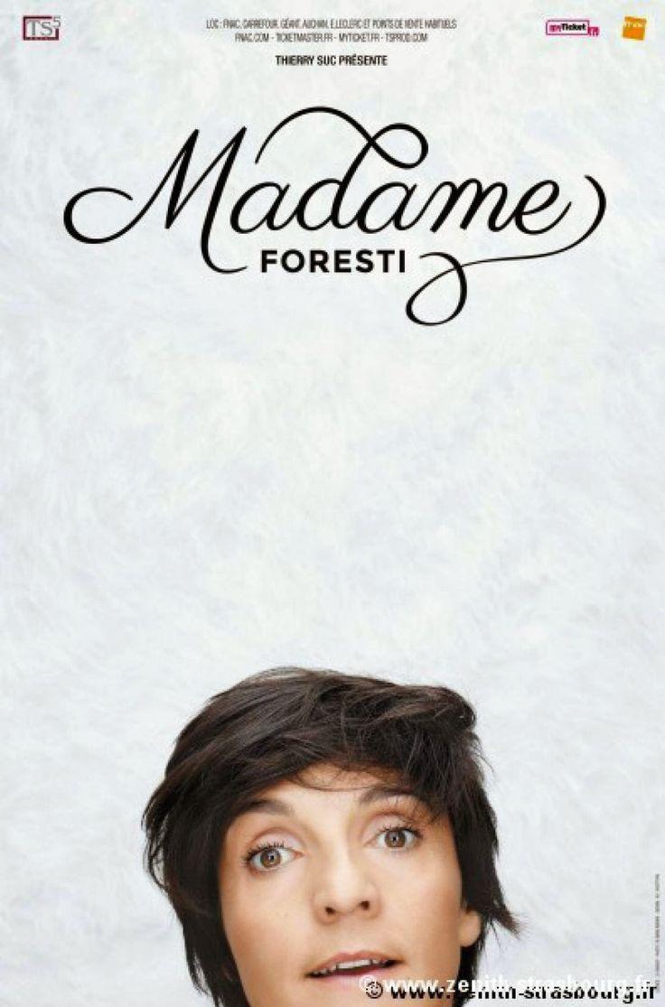 Spectacle : Madame Foresti, le nouveau one woman show de Florence Foresti au Zénith de Paris jusqu'au 24 janvier puis en tournée dans toute la France   ParisianShoeGals