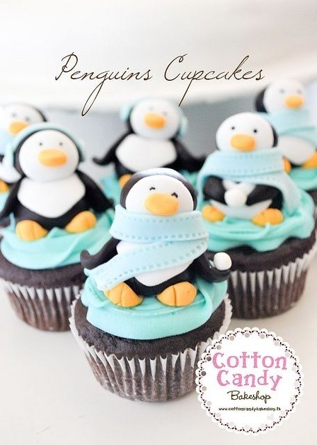 penguins | http://yummycupcakescollections.blogspot.com