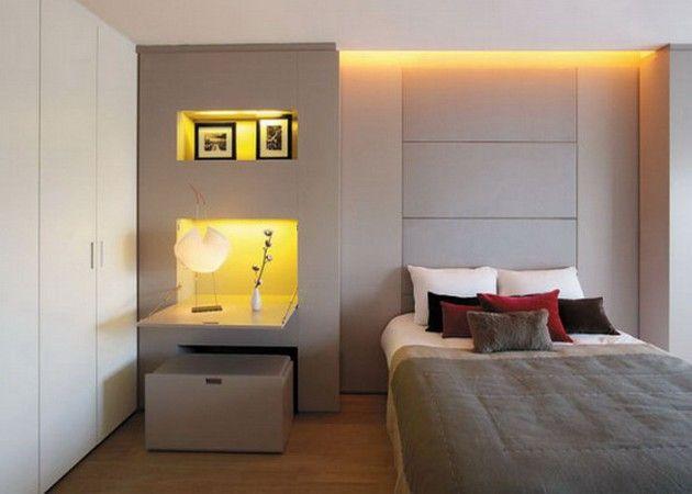 17 entzückende kleine zeitgenössische Schlafzimmer Design-Ideen