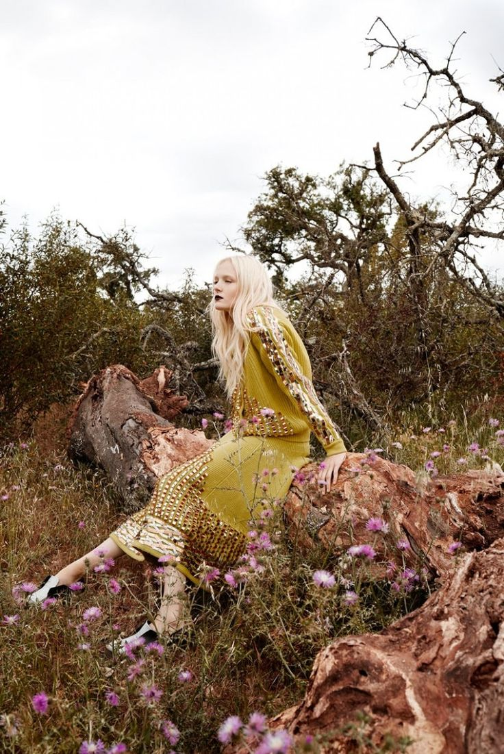 FASHION EDITORIAL | Maja Salamon for Elle Poland cover