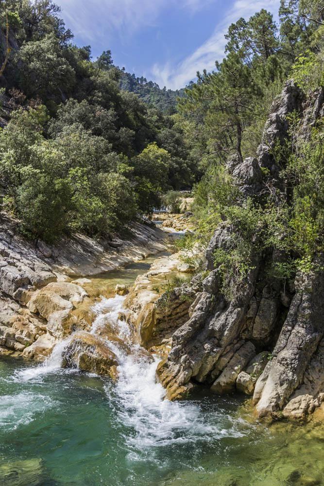 Sierra de Cazorla, segura y las viudas en Jaén