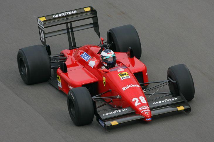 Ex-Gerhard Berger Japanese and Australian Grands Prix winning  1987 Ferrari F1/87 Formula One monoposto