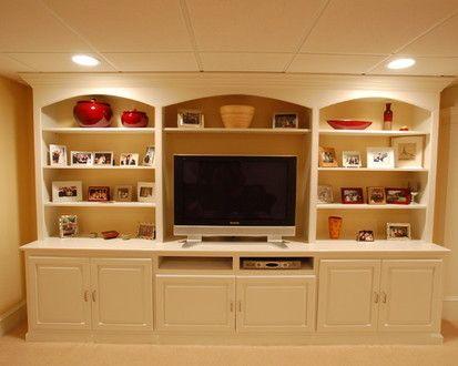 basement built ins for the home pinterest basements built ins