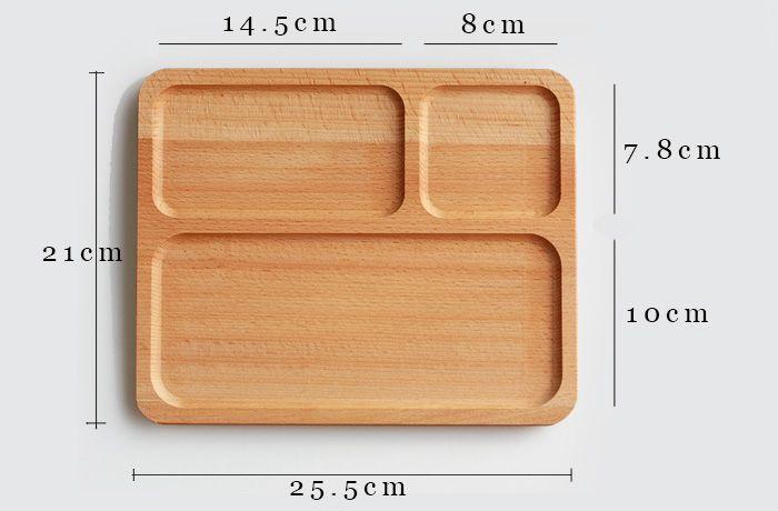 9 pulgadas de importación de madera de haya platos y platos para el desayuno rejilla platos de la cena platos para menaje de restaurante para los niños en Platos de Hogar y Jardín en AliExpress.com | Alibaba Group