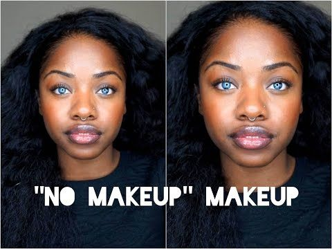 No Makeup Look For Black Women. | Health And Beauty | Pinterest | No Makeup Looks Makeup Looks ...