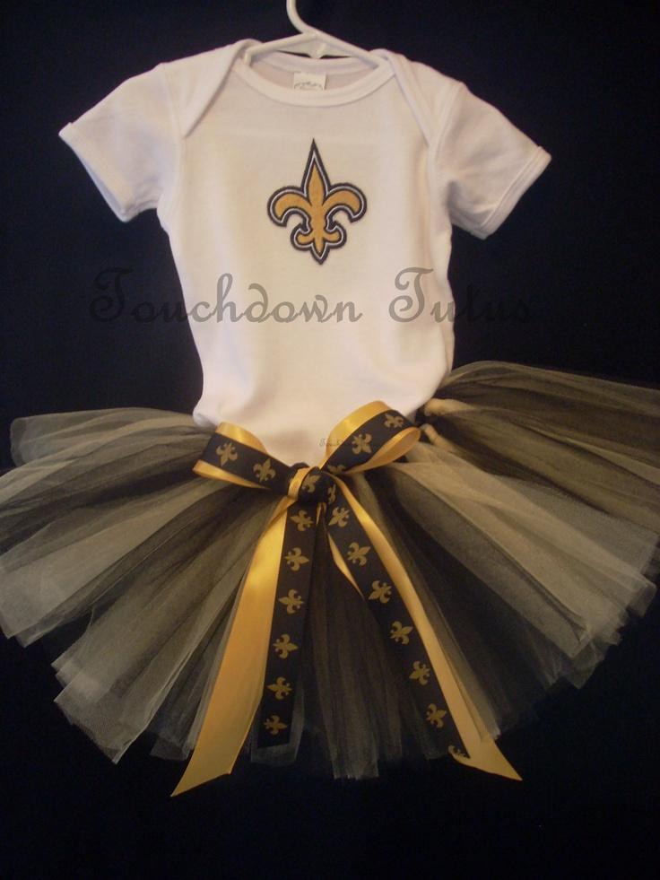 New Orleans Saints tutu outfit