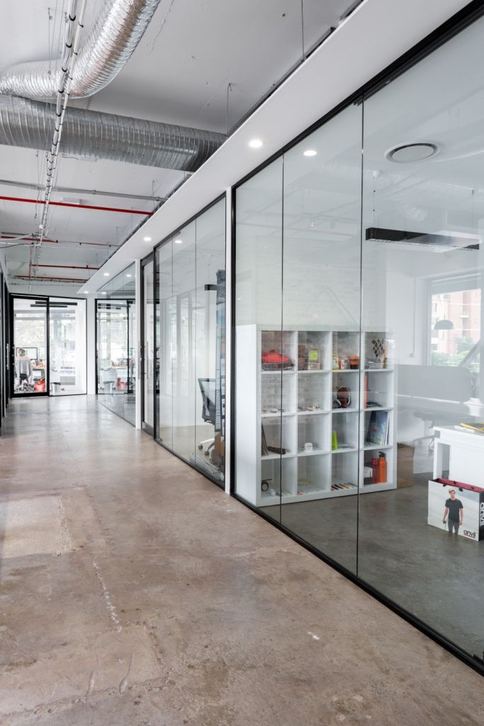 Office space designed by omgprojects.