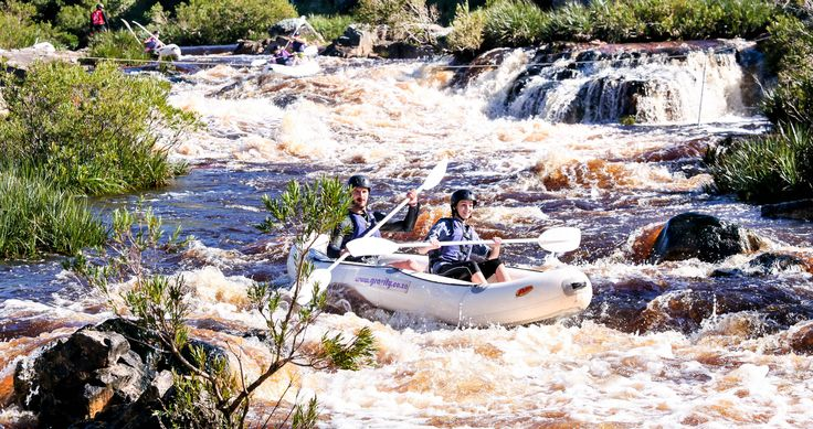 White water rafting just 1 hour from Cape Town near Betties Bay. A fun day out with your mates in true wilderness.