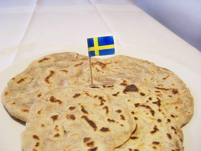 Tunnbröd   Schwedisches Fladenbrot