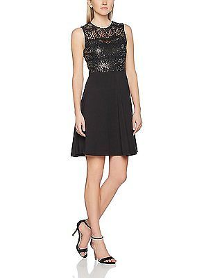20, Black, Dorothy Perkins Women's Sequin Lace Dress NEW