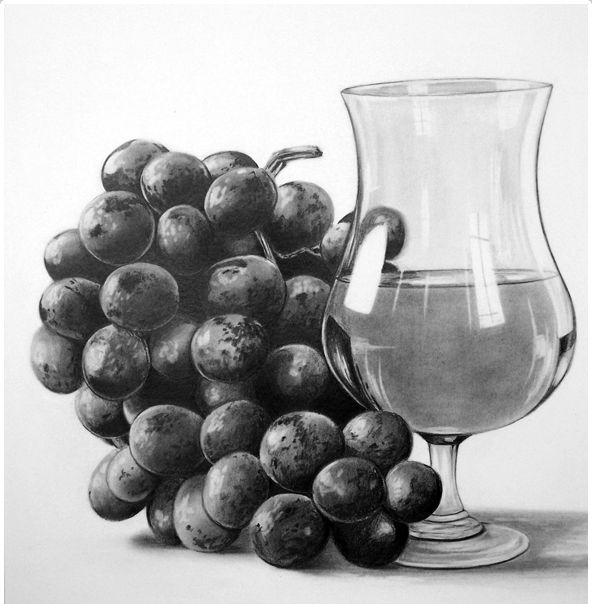 still life drawings -                                                                                                                                                                                 More