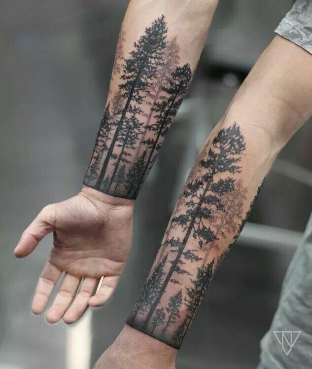 Pin De Der Traumer En Tatuajes Pinterest Tattoos Forest Tattoos