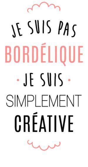 Wedding Quotes  : personnaliser tee shirt Je suis pas bordelique Plus