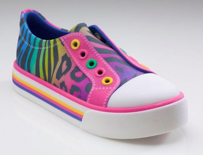 shoe 3D printed in full colour