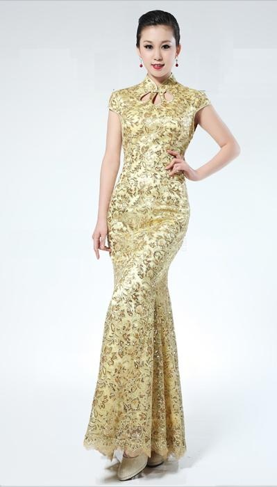 Best 7 Chinese style wedding Dresses images on Pinterest   Chinese ...