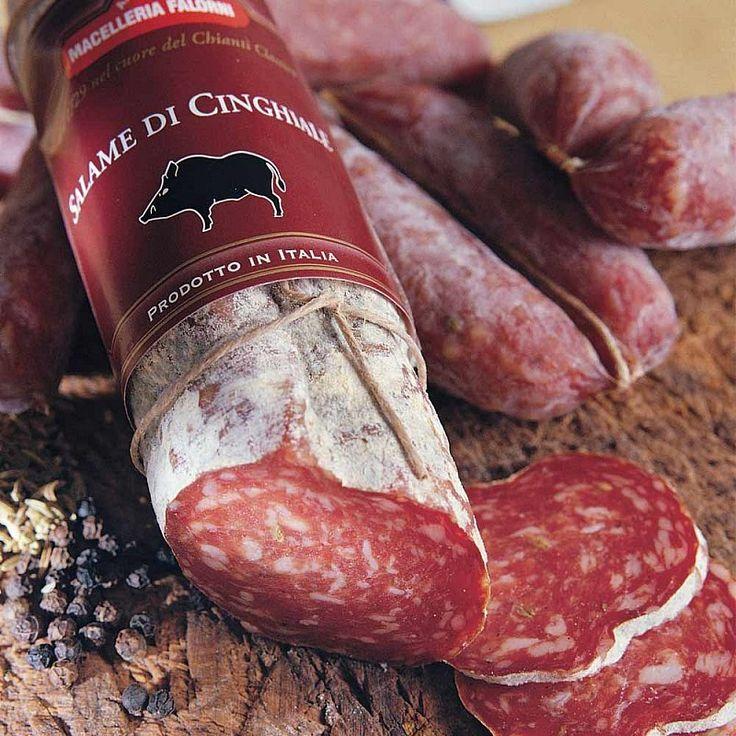 Salami Vom Toskana Wildschwein