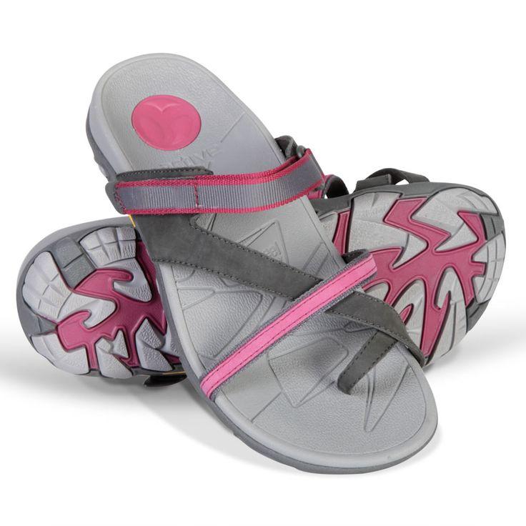 The Lady's Plantar Fasciitis Sports Sandals - Hammacher Schlemmer