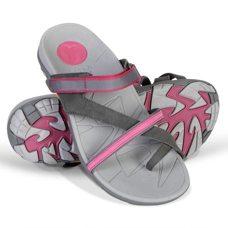 The Lady's Plantar Fasciitis Sports Sandals - Hammacher Schlemmer