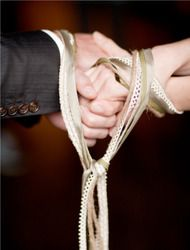 handfasting...scottish tradition...nourishment of family and love, wisdom and respect, passion, playfulness and fun, light and nourishment, spontaneity, dependability and grounding, nobility and mystery...Love this