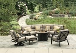 Fully-outdoor, deep-seating aluminum by Mallin!  One of our most comfortable collections!  Quick-ship program available!