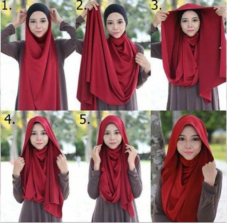 Beautiful Loose Hijab Style