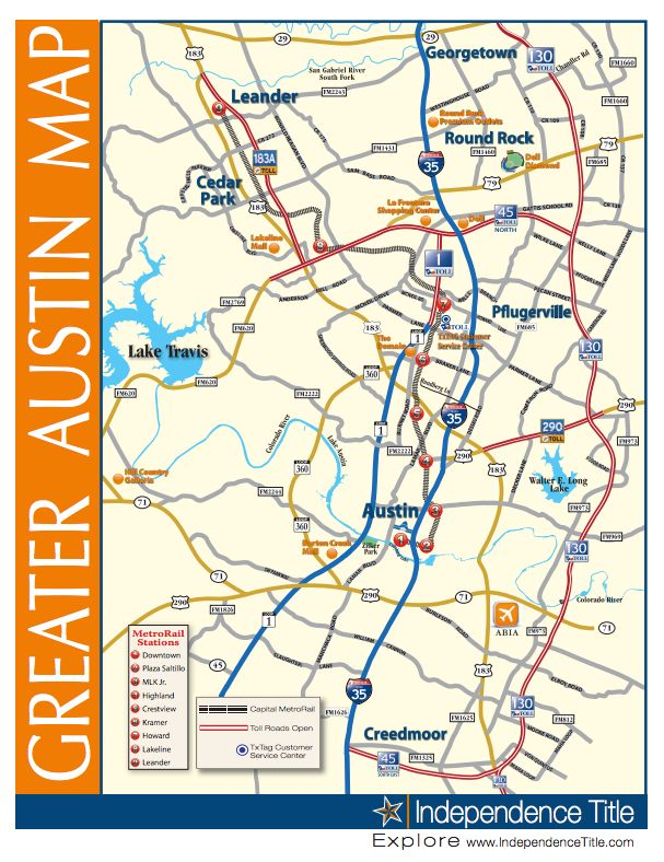 Austin tx zip code map free