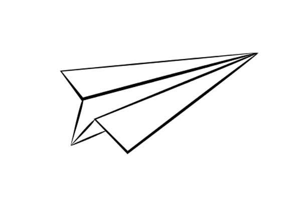 Paper Airplane Coloring Page Di 2020