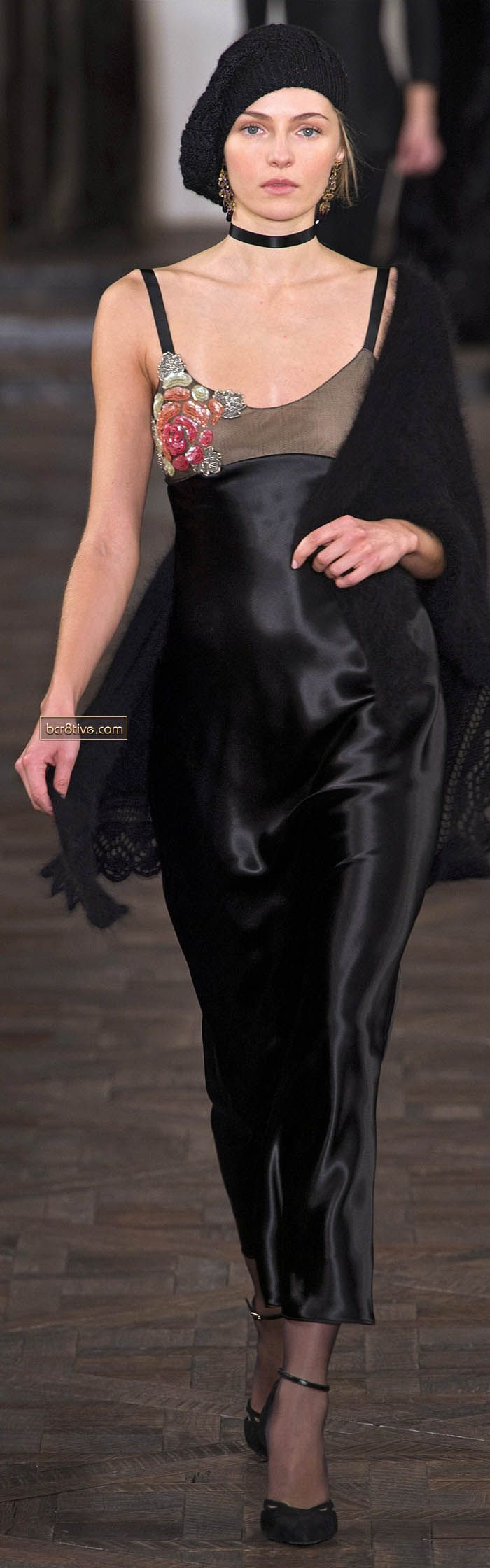 Ralph Lauren Fall Winter 2013 New York Fashion Week - this look reminds me of Faye Dunnaway in Bonnie and Clyde.