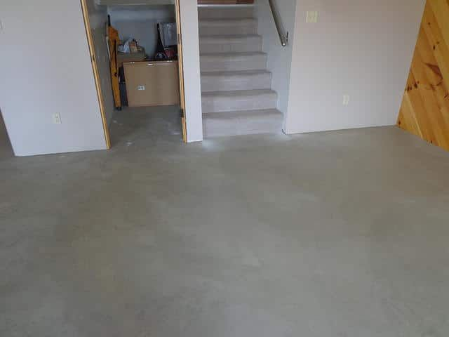 Basements Are Probably The Only Spaces Which Tend To Be Completely Different From The Rest Of Cleaning Concrete Floors Concrete Basement Floors Clean Concrete