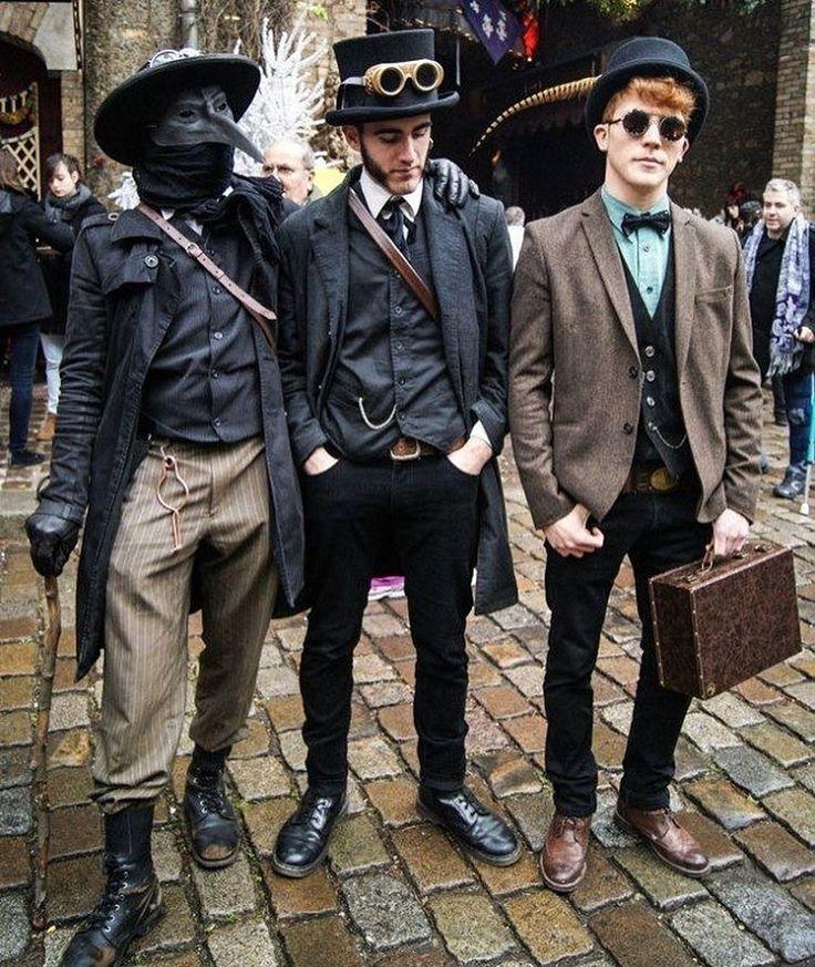 Steam punk men